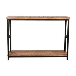 Stolik z blatem z drewna mangowca LABEL51 Side
