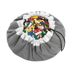 Mata do zabawy i worek na zabawki w jednym Play & Go Classic Grey