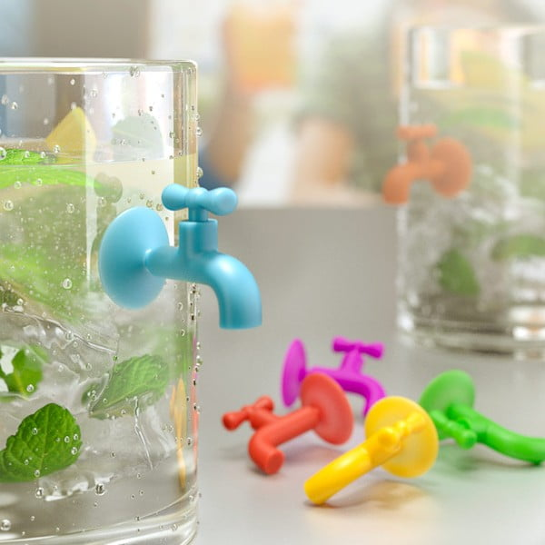Zestaw 6 szt. uchtywów na szklanki Balvi Tap