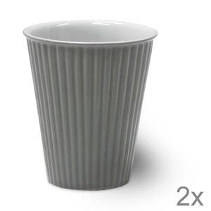 Zestaw 2 filiżanek ceramicznych Latte Fint, 10 cm