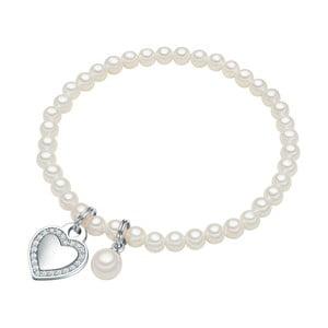 Perłowa bransoletka Poa, perła 4 mm