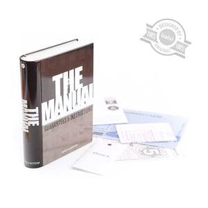 Pudełko w kształcie książki The Manual