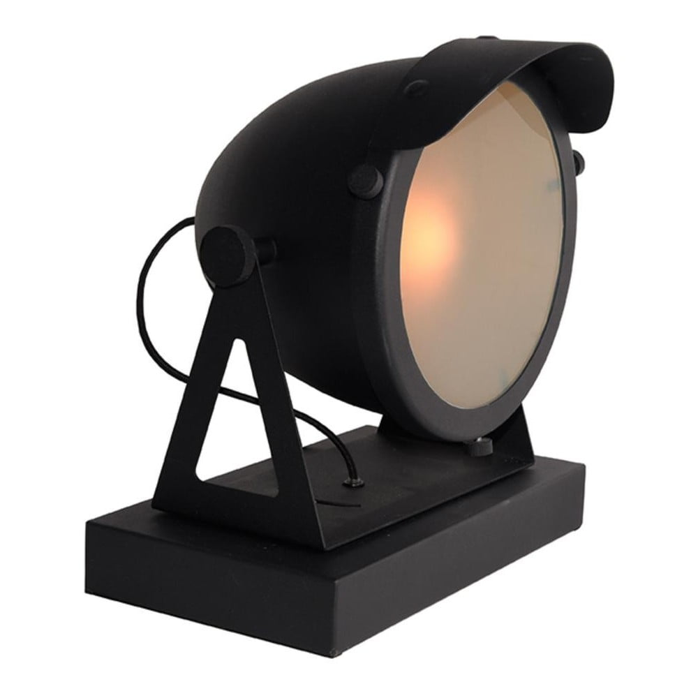 Czarna lampa stołowa LABEL51 Cap
