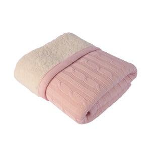 Koc dziecięcy Baby Pink, 80x110 cm