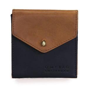 Brązowo-czarny portfel skórzany O My Bag Georgies