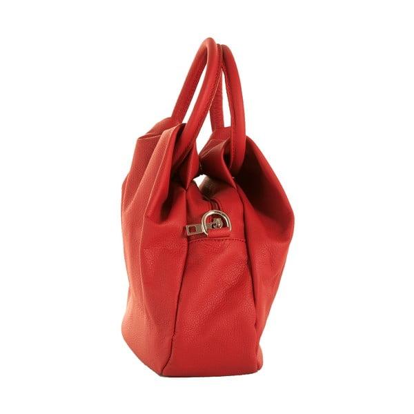 Czerwona torebka skórzana Andrea Cardone Dolcezza