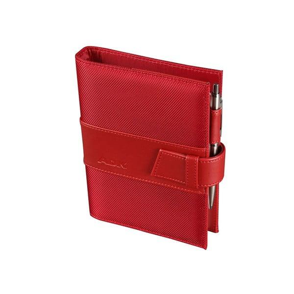 Kalendarz na rok 2016 AKD Assistent, czerwony, rozm. A6