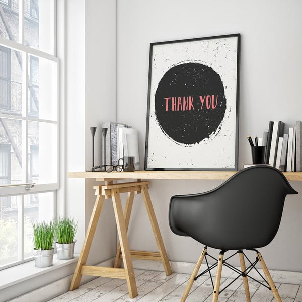 Plakat Thank You, 30 x 40 cm