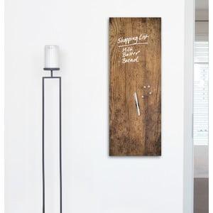 Tablica magnetyczna Eurographic Used Wood, 30x80 cm
