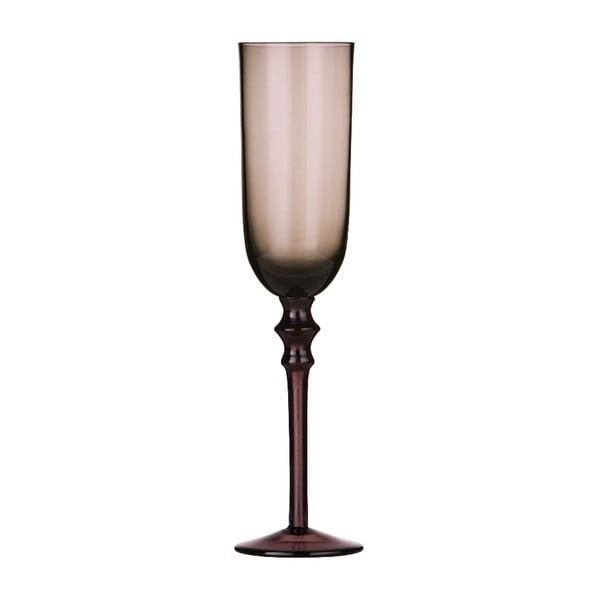 Zestaw 4 kieliszków do szampana Purple Clear