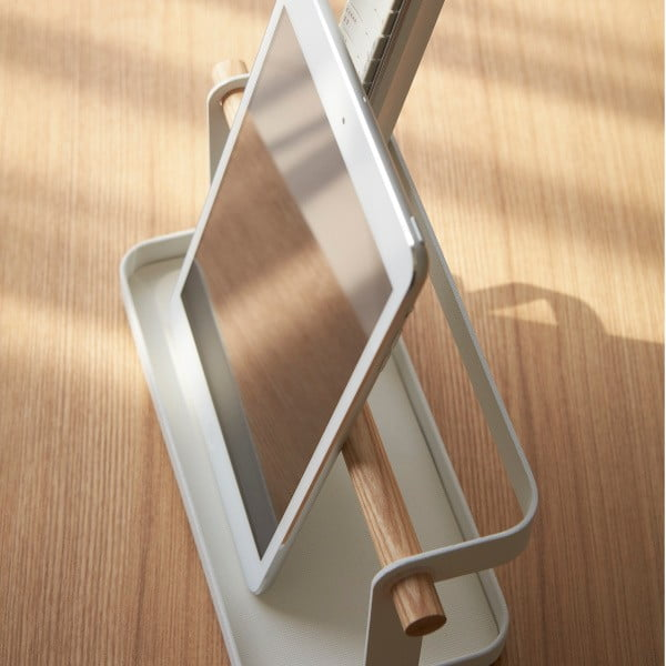 Biały stojak na urządzenia elektroniczne Yamazaki Tosca