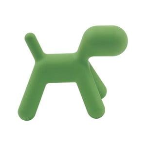 Zielone krzesełko Puppy, 43 cm