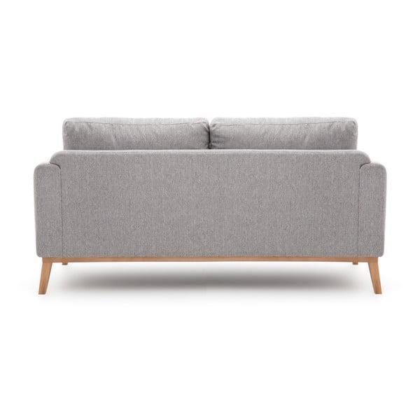 Jasnoszara sofa 3-osobowa Vivonita Milton