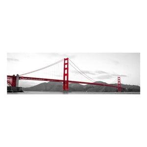 Obraz na szkle San Francisco, 40x120 cm