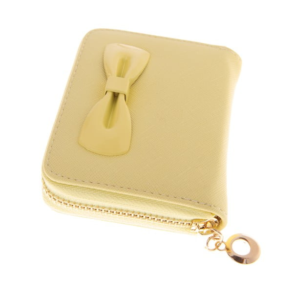Mały portfel Ladiest,  żółty