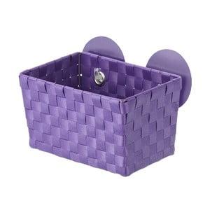 Koszyk z przyssawkami Fermo, fioletowy