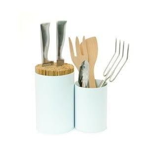 Stojak na noże i akcesoria kuchenne Knife&Spoon White