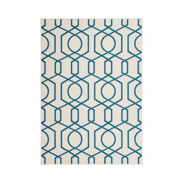 Niebieski dywan Kayoom Stella 400, 200x290 cm