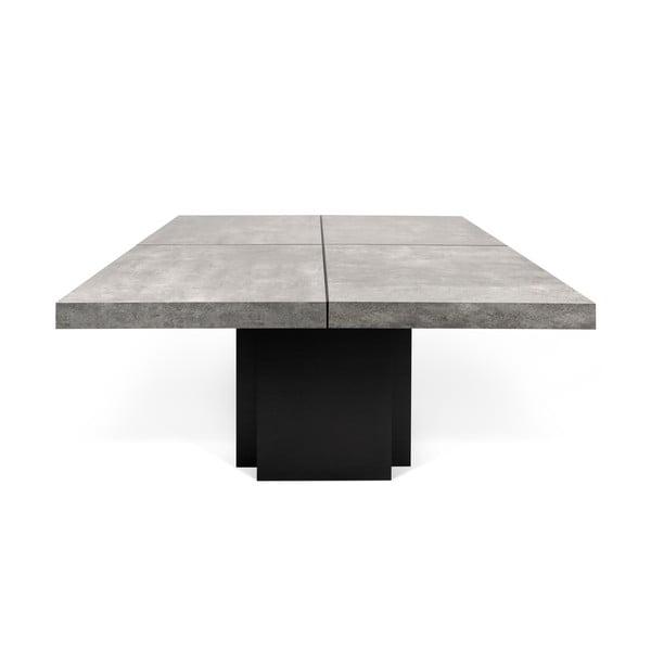 Stół do jadalni z betonowym blatem TemaHome Dusk, 150x150 cm