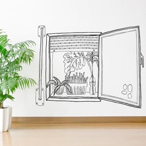 Naklejka Chispum Plants Window