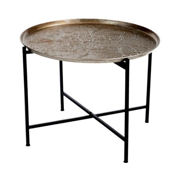 Metalowy   stolik Antique