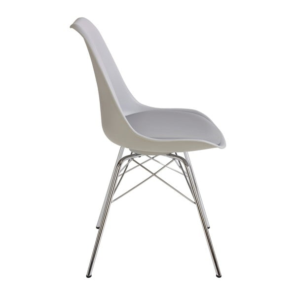 Zestaw 4 szarych krzeseł Støraa Jackson