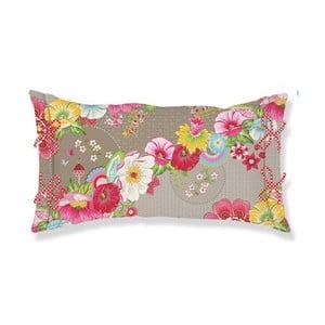 Poduszka Swinging Flowers 35x60 cm, khaki