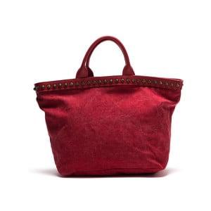 Skórzana torebka Anna Luchini 8037 Rosso