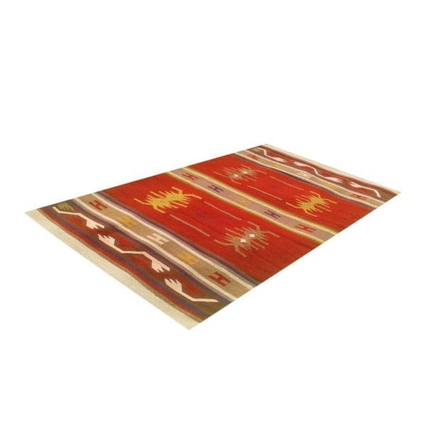 Wełniany dywan Kilim 129, 120x180 cm