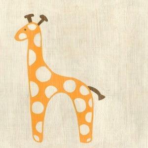 Obraz Giraffe, Best Friend, 30x30 cm