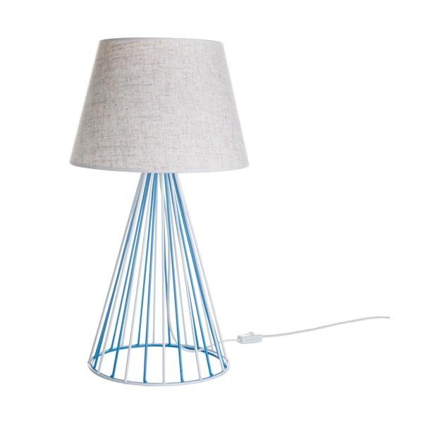Lampa stołowa Wiry White/Blue