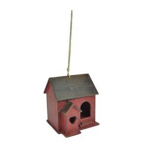 Czerwona budka dla ptaków Antic Line Chalet