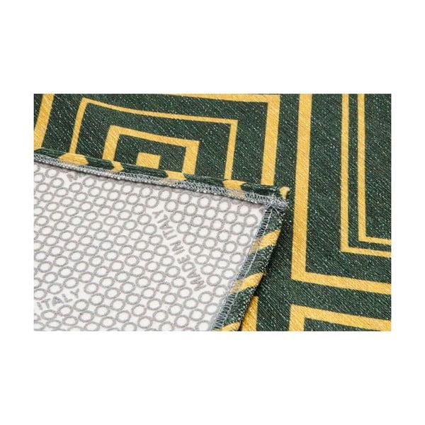 Wytrzymały dywan kuchenny Webtapetti Hellenic Green, 60x150 cm