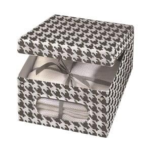 Pudełko Pied Poule, 48x36 cm