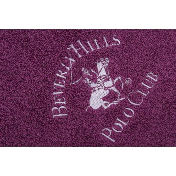 Ręcznik bawełniany BHPC 50x100 cm, fioletowy