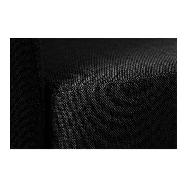Sofa trzyosobowa z oparciem po lewej stronie Viotti Light Anthracite
