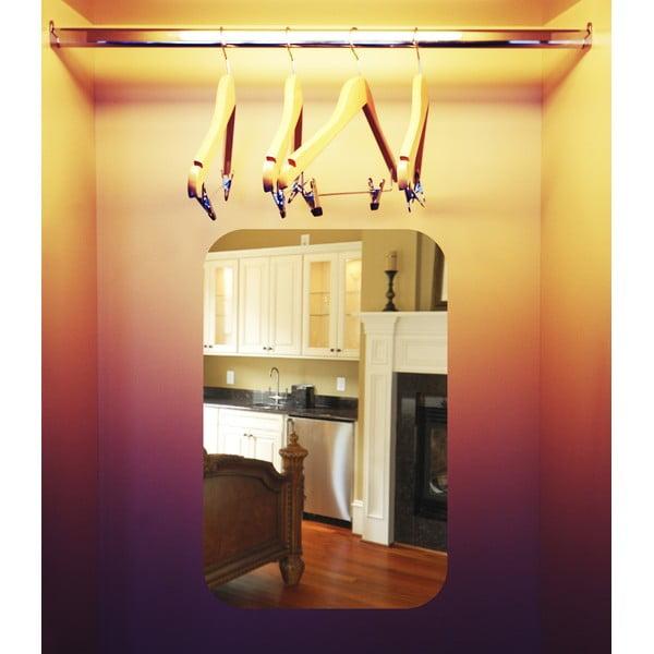 Lustrzana naklejka elektrostatyczna Ambiance Rectangle, 42x27 cm