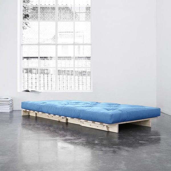 Fotel rozkładany Karup Roots Raw/Horizon Blue