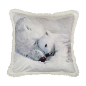 Poduszka White Bear, 45x45 cm
