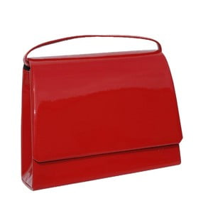 Skórzana kopertówka Boscollo Red 2870
