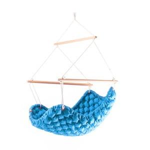 Fotel i huśtawka w jednym (do użytku zewnętrznego) Swingy Out, niebieski