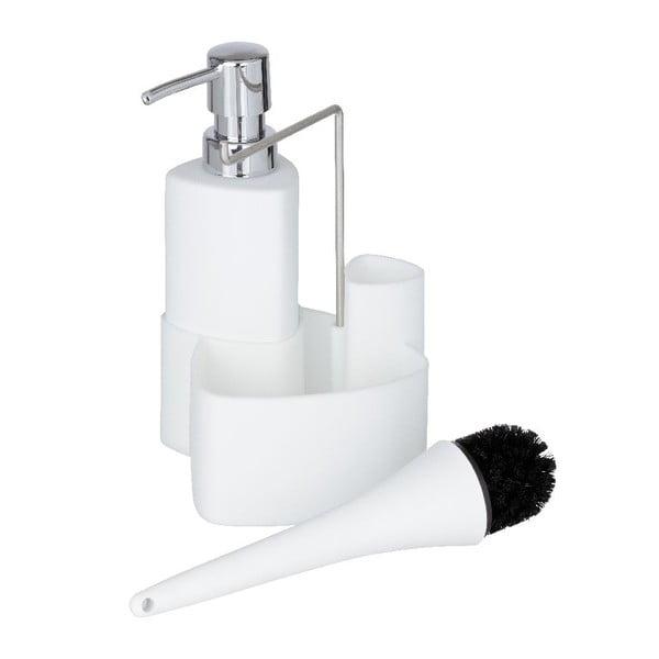 Biały zestaw do mycia naczyń Wenko Empire