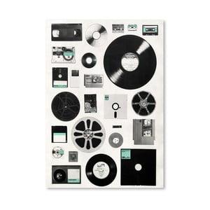 Plakat Data, 30x42 cm