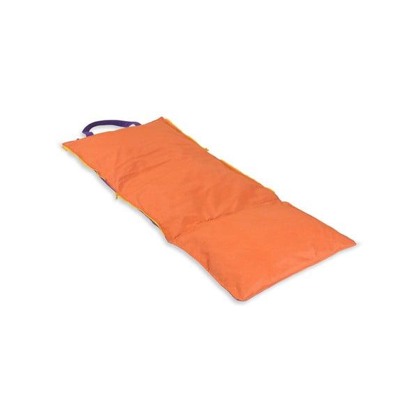 Przenośny leżak + torba Hhooboz 150x62 cm, fioletowy
