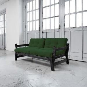 Sofa rozkładana Karup Step Black/Botella
