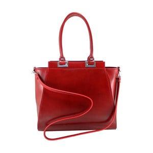 Czerwona torebka skórzana Turmalina