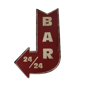 Tabliczka Antic Line Bar 24/24