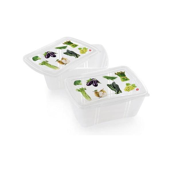 Zestaw 2 pojemników na żywność Snips Fresh, 2 l