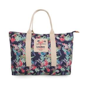 Niebieska torebka w kwiaty Lois Playera