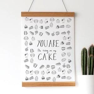 Plakat Icing On Cake, 30x40 cm